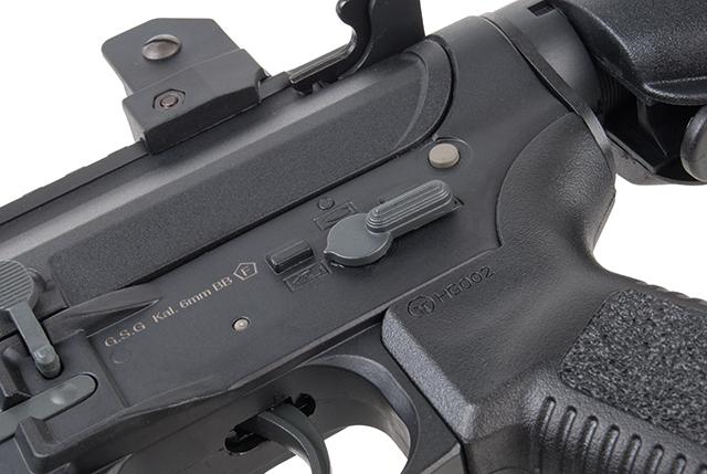 Ares Arms Amoeba M4 Black 007 Kompakt-Version Griffstück