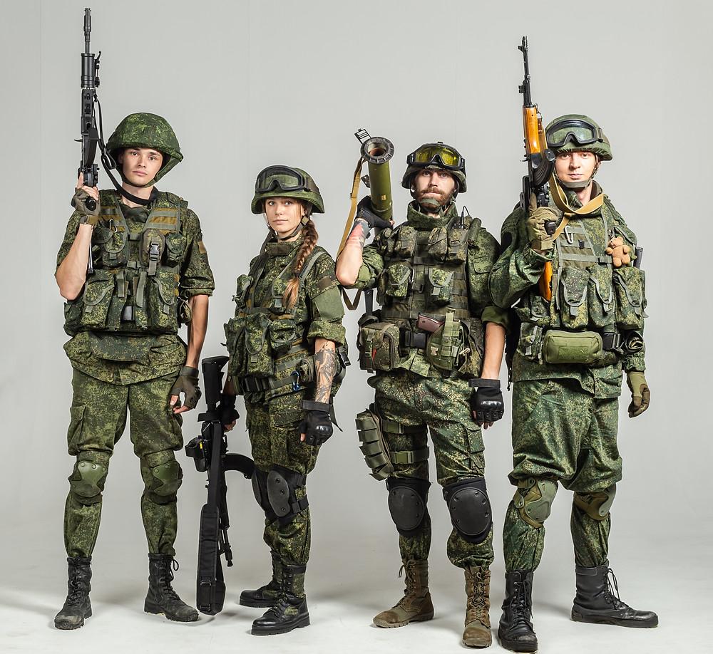 Russisches EMR-Tarnmuster