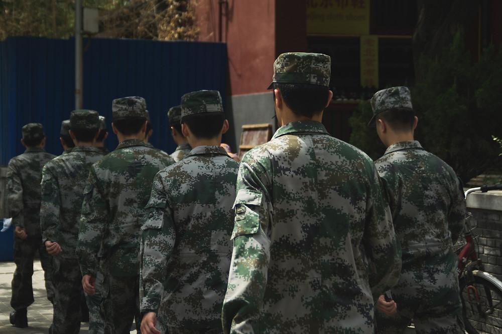 Hong Kong Garnison in Type 07 Universal-Tarn