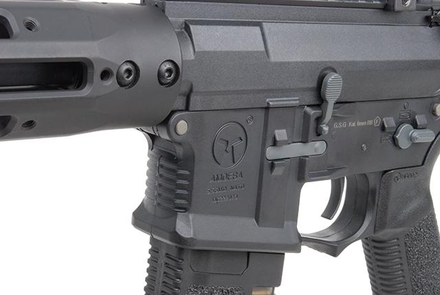 Ares Arms Amoeba M4 Black 009 Long Version Magazinschacht