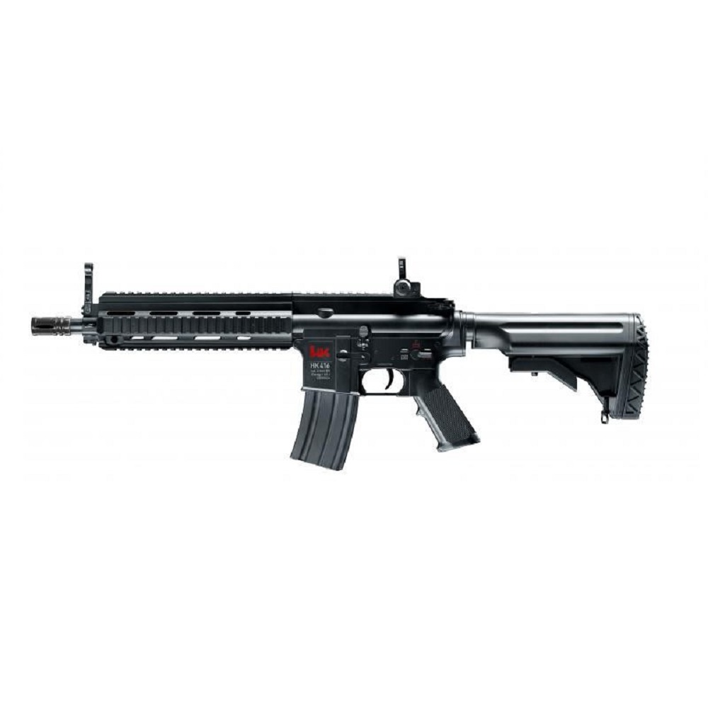 UMAREX  Heckler & Koch HK 416 CQB AEG Schwarz 0.5 Joule Seite