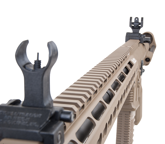 Ares Arms Amoeba M4 Dark Earth 016 Octarms Rail