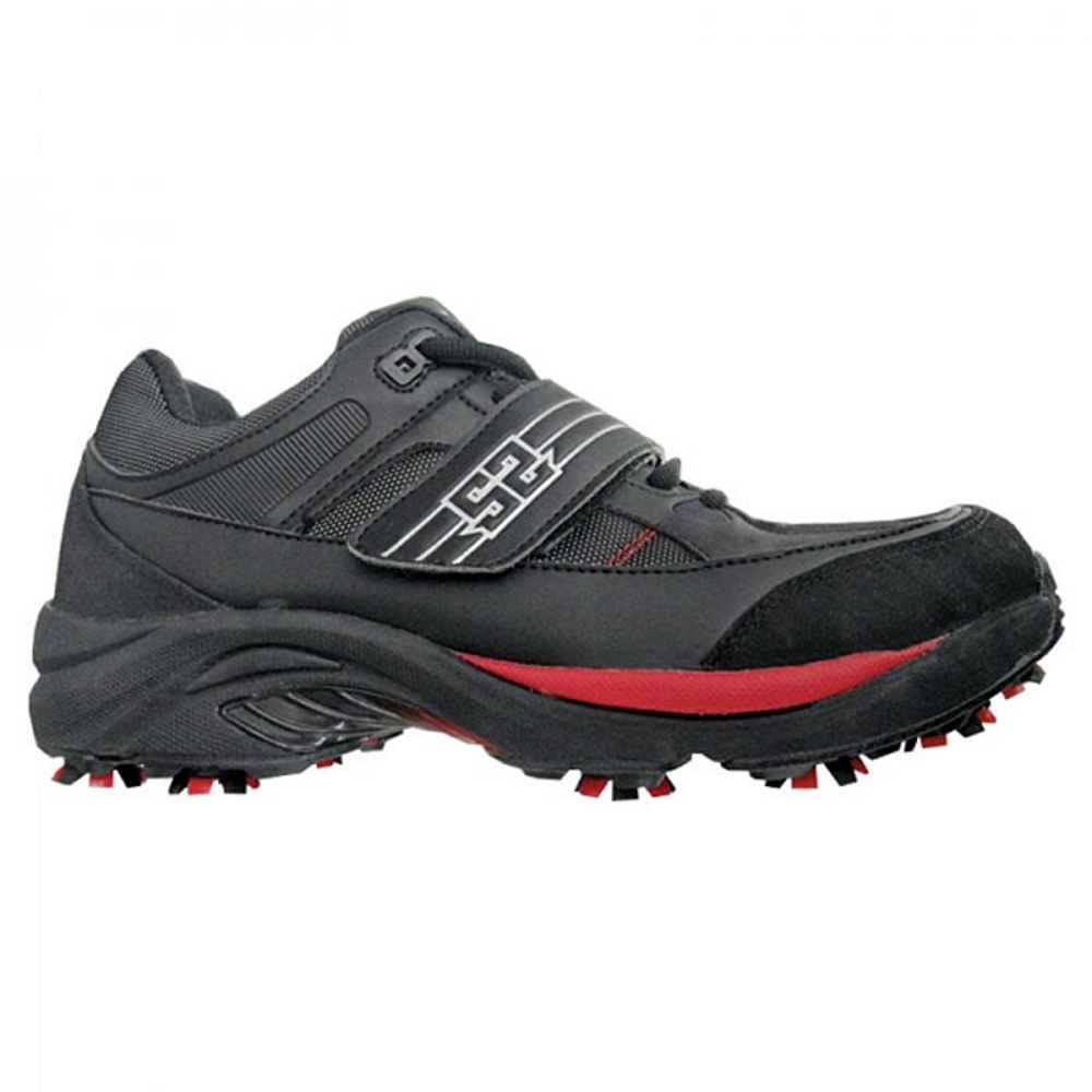 S2 The Flash Cleats Paintball-Schuhe, Schwarz/Rot Seite2