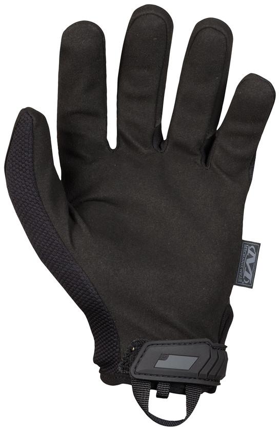 Mechanix Wear Handschuhe Original Rückseite Schwarz