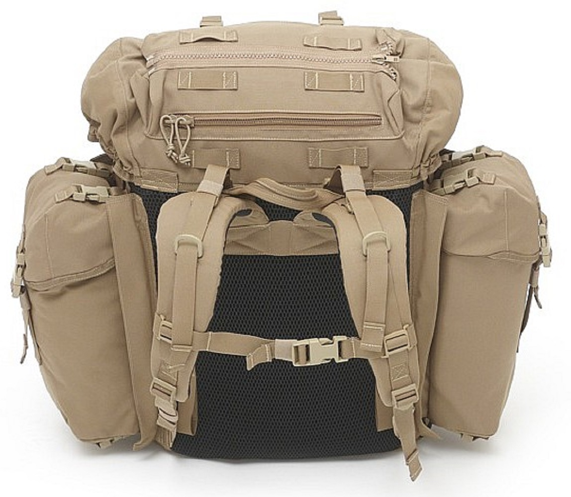 Warrior Assault Systems Rucksack BMF Bergen Coyote Rückseite