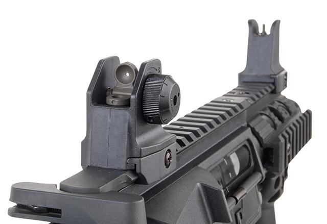 Ares Arms Amoeba M4 Black 007 Kompakt-Version Rail