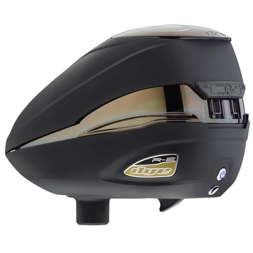 Dye Paintball Loader Rotor R2, Black/Gold