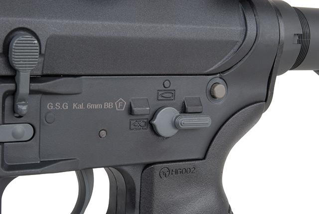 Ares Arms Amoeba M4 Black 008 Standard-Version Sicherung