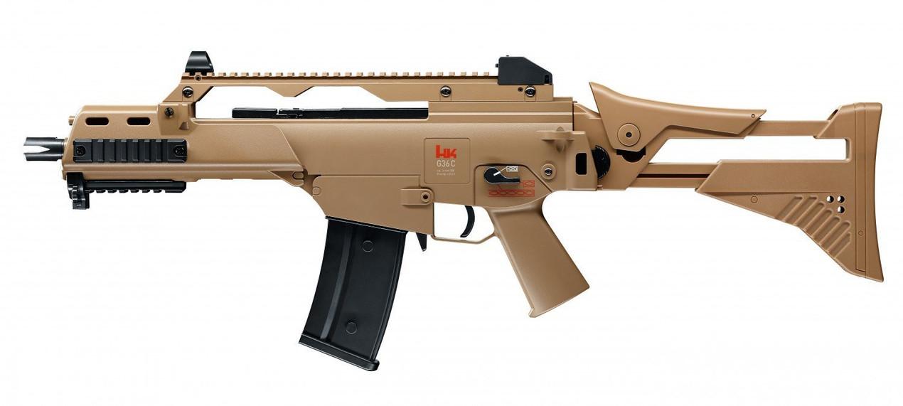 UMAREX Airsoft H&K G36 C IDZ AEG Sand 0.5 Joule