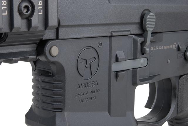 Ares Arms Amoeba M4 Black 008 Standard-Version Magazinschacht