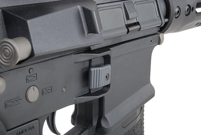 Ares Arms Amoeba M4 Black 009 Long Version Sicherung
