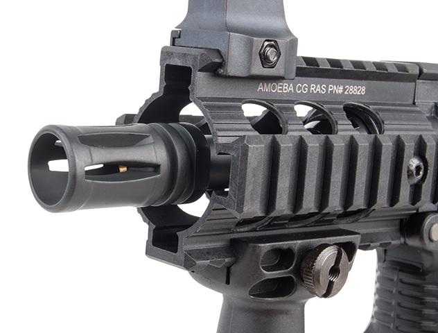 Ares Arms Amoeba M4 Black 007 Kompakt-Version Mündnung