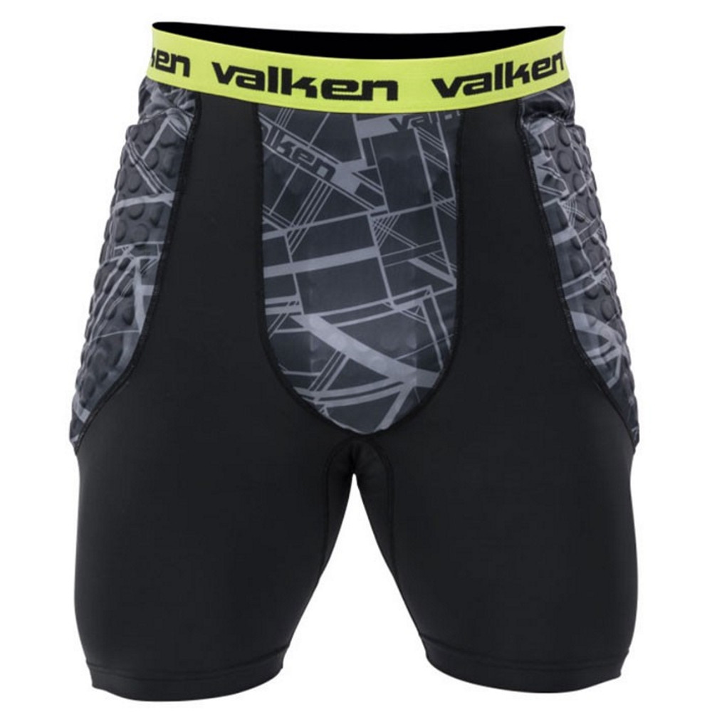 Valken Agility Paintball Slide Shorts, Schwarz
