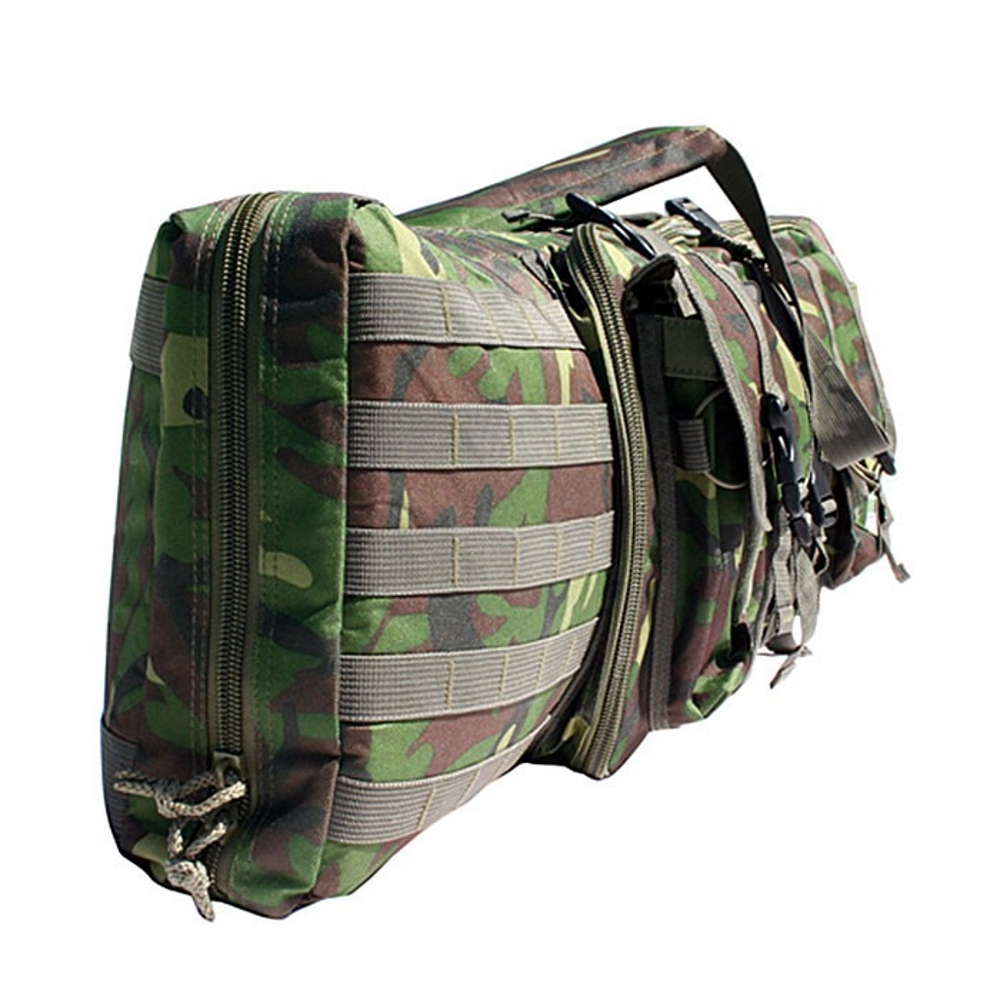 GXG Deluxe Tactical Gun Bag, Woodland Seite