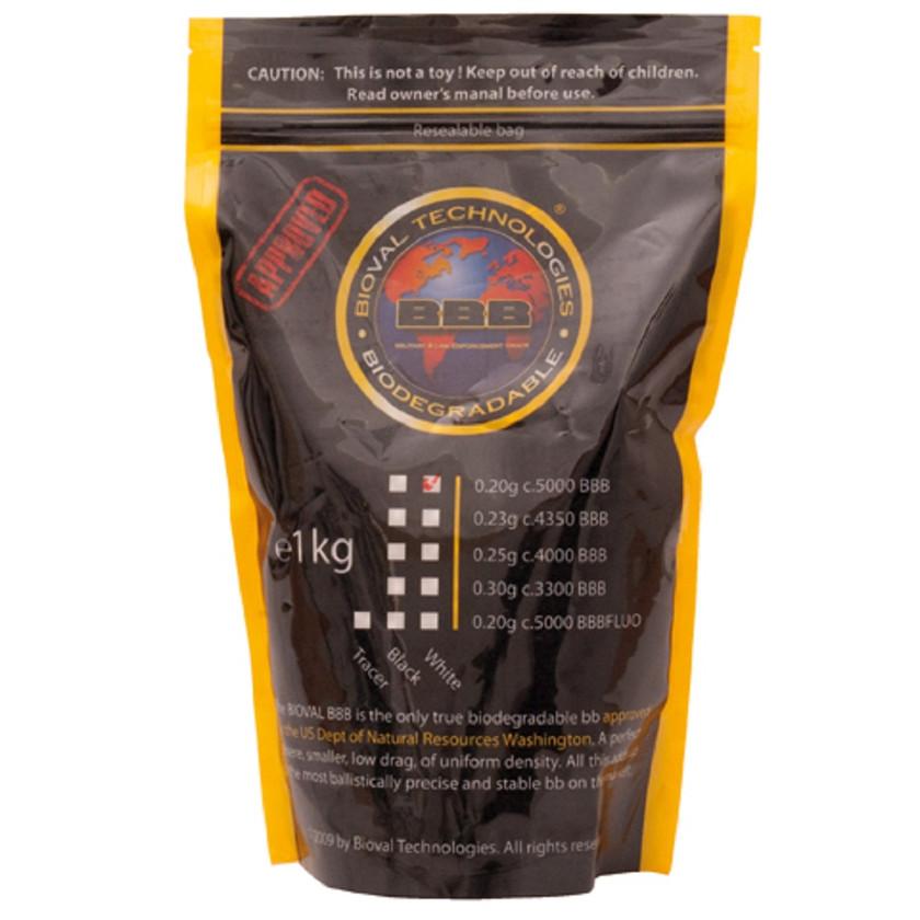 Softairmunition Bioval Bio BB's 0,20 g, 5.000 Stk