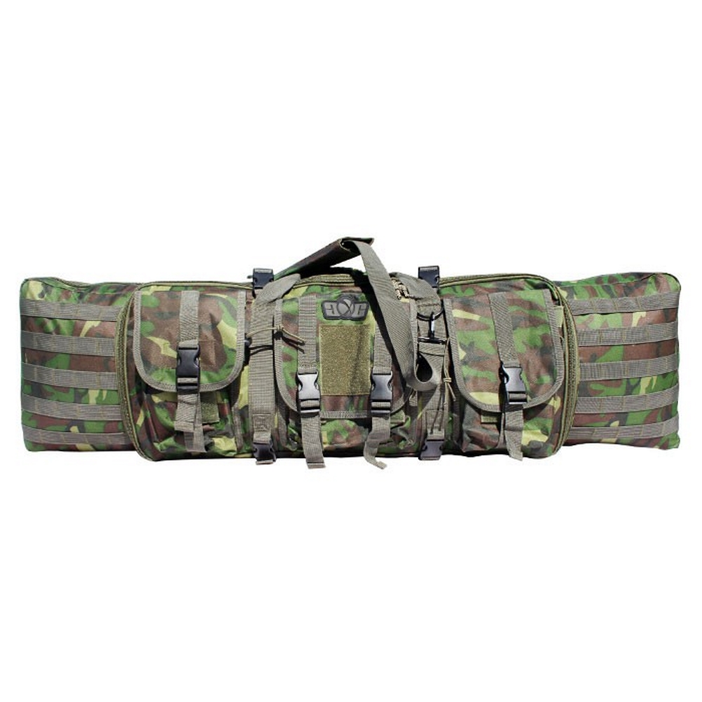 GXG Deluxe Tactical Gun Bag, Woodland Front