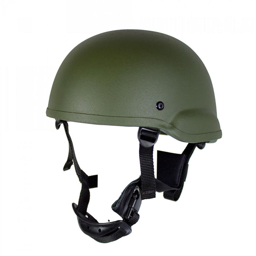 Zebra Armour Gunfighter Gefechtshelm U6 NIJ3A Pad Oliv