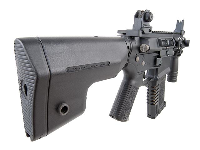Ares Arms Amoeba M4 Black 007 Kompakt-Version Schulterstütze