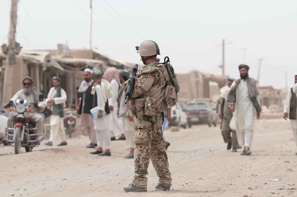 Tropentarn Flecktarn Afghanistan