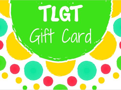 $100 TLGT Gift Card