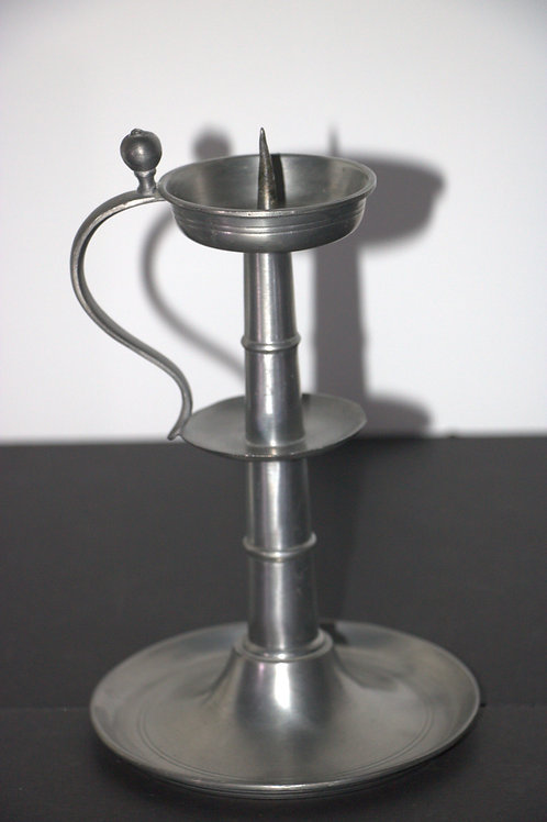 Pewter Candle Carrier
