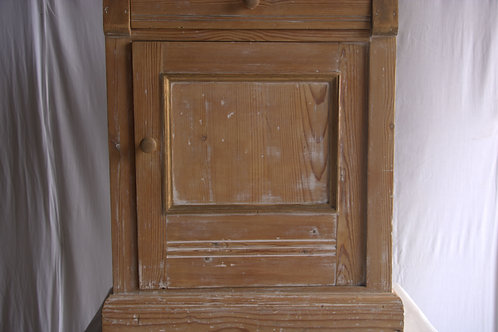 Commode cabinet with drop leaf. (Pottskåp med avlastningsyta)