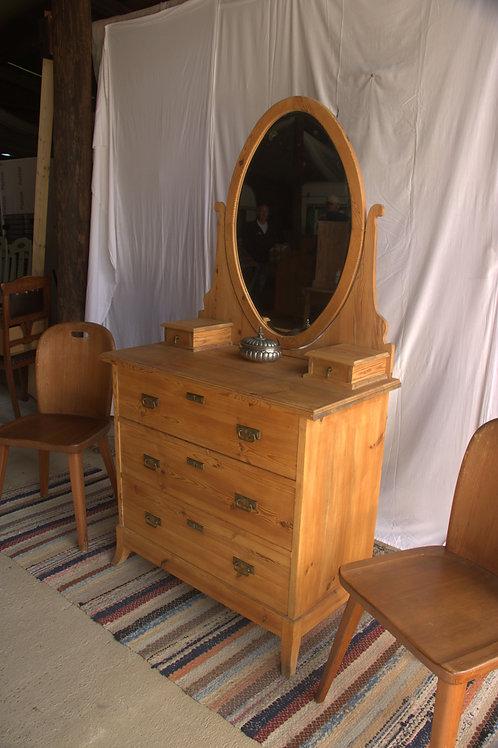 Small Dresser w/ oval mirror