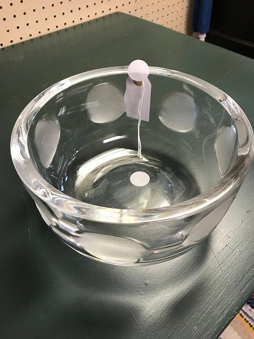 Orrefors Vintage Heavy Crystal Bowl
