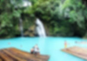 ジンベイザメ+カワサン滝