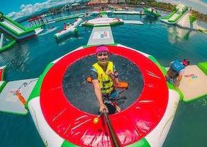 セブ島・水上アスレチック&ジップライン セブ島オプショナルツアー/セブ島ツアー【セブセレクトツアーズ】