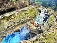 カワサン滝キャニオニング/カワサン滝ジャンプ/カワサンの滝/セブ島ツアー/セブ島オプショナルツアー