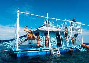 水上アスレチック セブ島オプショナルツアー/セブ島ツアー【セブセレクトツアーズ】