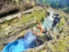 ジンベイザメ+カワサン滝キャニオニング