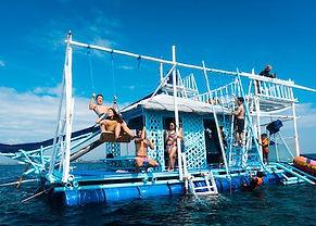 セブ島・アイランドホッピング&水上アスレチック セブ島オプショナルツアー/セブ島ツアー【セブセレクトツアーズ】