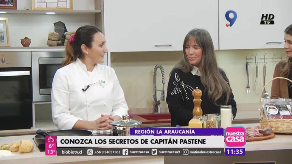 Promocionan gastronomía y turismo de zonas de rezago de la Araucanía en matinal de BioBioTV