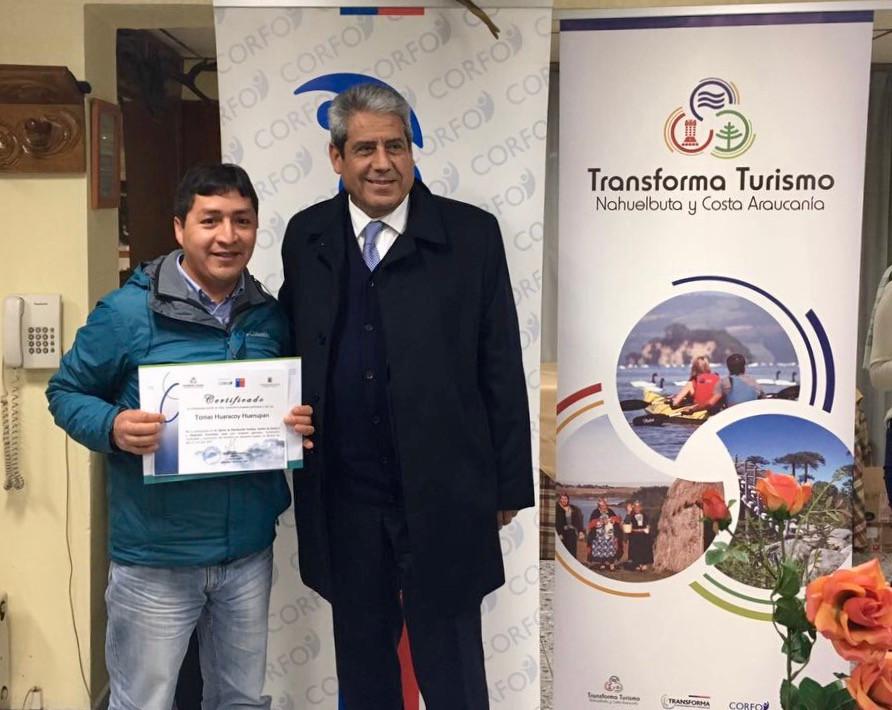 Emprendedores son certificados para mejorar sus destinos turísticos