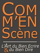 Logo Commenscène Sylvain Le Breton