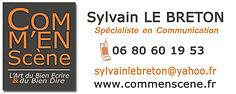 Commenscene Sylvain Le Breton