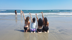 Beta Class at the Beach