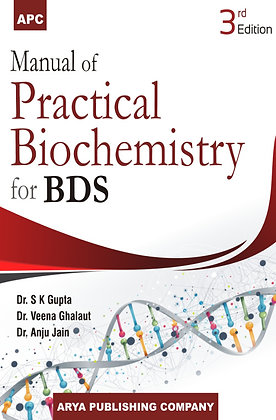 Manual of Practical Biochemistry for BDS