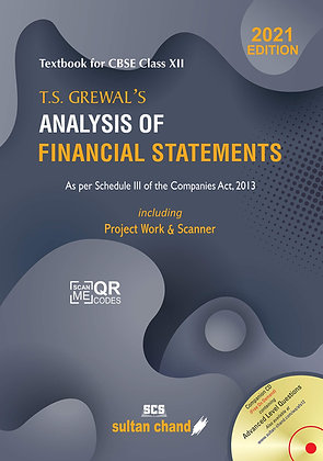 T.S. Grewal's Analysis of Financial Statements (2021-22)