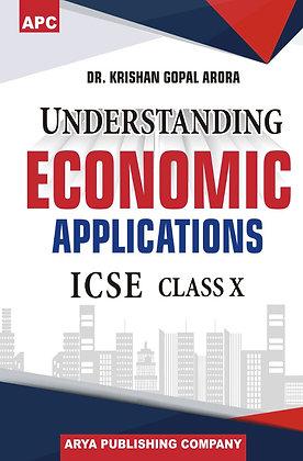 Understanding Economic Applications ICSE Class X