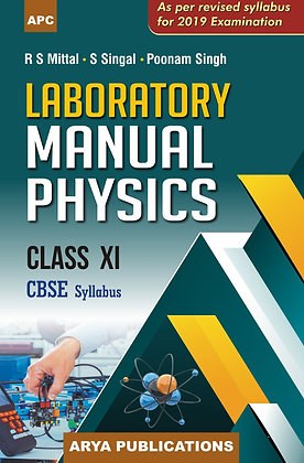 Laboratory Manual Physics Class- XI