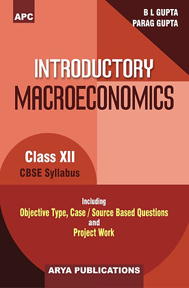 Introductory Macroeconomics (Including Project Work) (Academic Session- 2020-21)