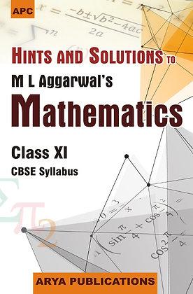 Hints and Solutions Mathematics Class- XI
