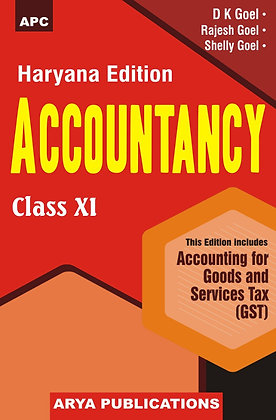 Accountancy - XI (Haryana)