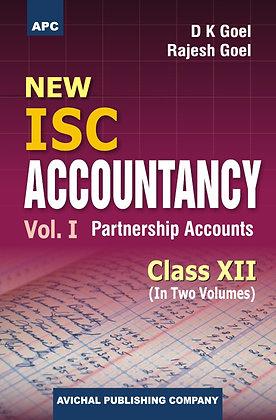 New I.S.C. Accountancy (Vol I Partnership Accounts & Vol II Company Accounts)