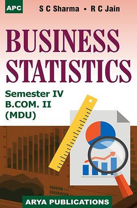 Business Statistics B.Com. II Semester IV (M.D.U.)