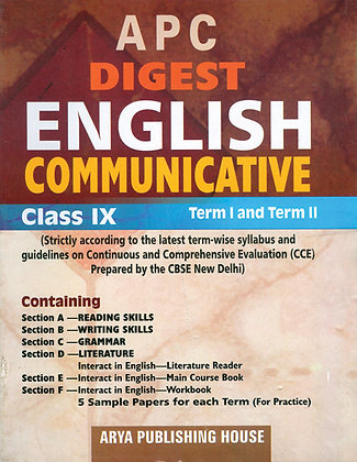 APC Digest English Communicative Class- IX