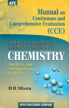 Manual on Continuous and Comprehensive Evaluation (CCE) Chemistry Class- X